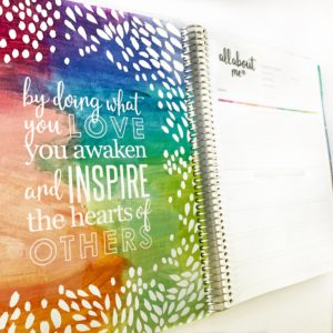 Teacher Planner Inspirational Quote
