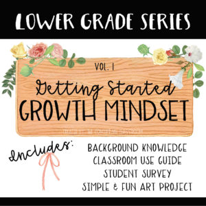 Growth Mindset - Getting Started